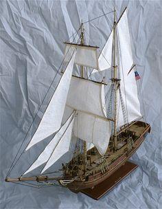 Constructo's 1/51 scale USS Enterprise 1799.