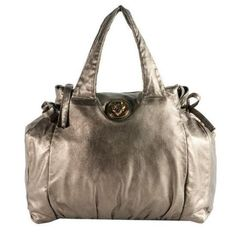 e7790d75ea2f7 Pre-Owned Gucci Metallic Leather  Hysteria  Top Handle Satchel Handbag Purse  Pewter. Ronda Shinaver · Gucci Handbags sale!!!