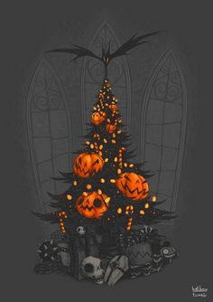 im dreaming of a dark christmas by hatboy i need this to be my - Halloween And Christmas