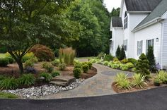 Front Yard Curb Appeal - Huntingtown - traditional - landscape - other metro - The Sharper Cut, Inc. Landscapes