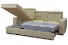 Luxusní kožená rohová sedací souprava BASIC na Aukru