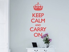 Keep Calm And Carry On - Not On The High Street Price: £24.99