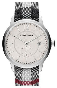 Burberry Textured Dial Watch, 40mm (Regular Retail Price: $695.00) available at #Nordstrom