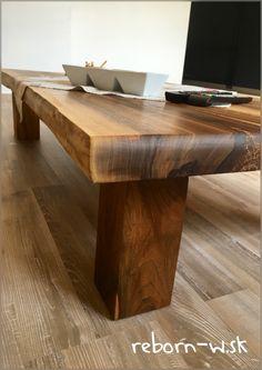 celodrevený konferenčný stolík z masívneho orechového dreva ✔️‼️  Ak ste milovníkmi prírody, vpustite kúsok prírody priamo k Vám domov ‼️☀️  Nájdete tu: http://reborn-w.sk/konferencne-stoliky/44-konferencny-stolik-walnut.html  #wood #home #design #solidwood #handmade #lovenature #woodworking #livestyle #woodlovers #walnut #coffeetable #livingroom #amazingnature #rebornwsk