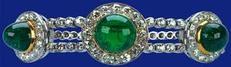 Cambridge - Delhi Durbar Emerald Bracelet