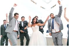 "Milwaukee Art Museum Wedding ""Jump Around"" photo by HeatherCookElliott.com"