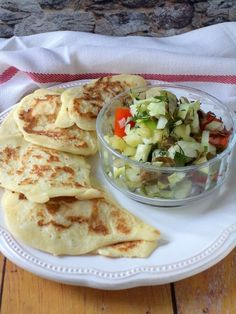 Rizses palacsinta salátával recept