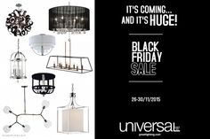 Our annual Black Friday Sale is almost here, and it's going to be HUGE! For massive savings come visit us between Nov. Black Friday, Things To Come, Ads, Home Decor, Homemade Home Decor, Decoration Home, Interior Decorating