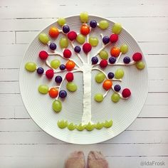Amazing Food Art Creations Your Kids Will Go Crazy About! Food Art For Kids, Cooking With Kids, Cute Food, Good Food, Amazing Food Art, Food Artists, Edible Food, Food Decoration, Happy Foods