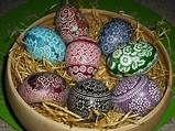 Polish pisanki - kroszonki opolskie Egg Designs, Easter Eggs, Christmas Crafts, The Originals, Blog, Image, Resin, Polish, Decorating