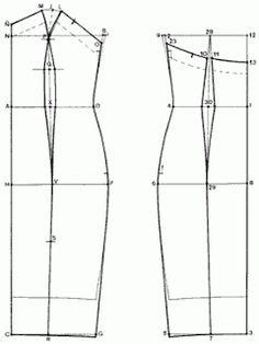 Pattern dresses./Выкройка платья. | Free patterns/Выкройки ...