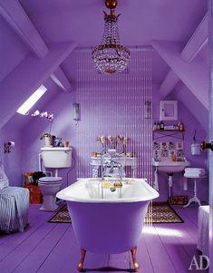 Проект ванной комнаты, дизайнерское бюро Chippendale & Morris.