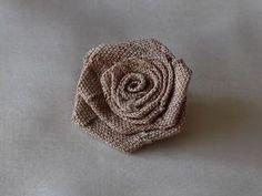 Мастерим розочку из ткани - Ярмарка Мастеров - ручная работа, handmade