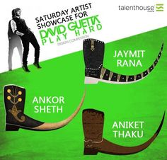 Saturday Artist Showcase  Here is an ode our Artists at Talenthouse India for being a part of David Guetta- Play Hard Design Creative Invite 2013.