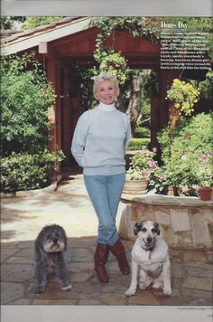 1986 Magazine Portrait of Doris Day at Age 62 by VictorianWardrobe, $4.00