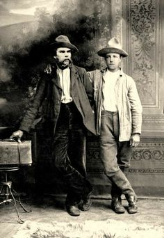 Great French poets Paul Verlaine & Arthur Rimbaud in 1873.