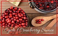 Ditch high-sugar cranberry sauces and make your own! This super easy recipe combines the tartness of the cranberry with the sweetness of fruit and its juices!