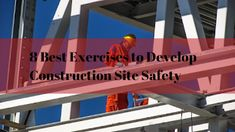 Construction site security is among the most overlooked items during a building job. In most offices, injuries are a hassle for the employee and a nuisance for HR. Construction Website, Construction Worker, Building Companies, Injury Prevention, New Tricks, Offices, Workplace, Safety, Exercise