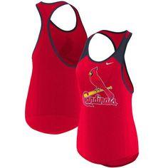 c281ac65d19 Nike St. Louis Cardinals Women s Red Wordmark Legend Tank Top. St Louis  BaseballLady In RedBaseball ShirtsSt ...