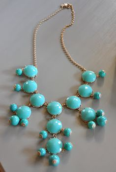 J.Crew bubble necklace for $14.50. I really need to get better at using Ebay.  Isabella & Max Rooms: Baffled, Perplexed & Mystified