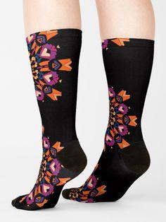 Geometric image Custom Socks Creative Casual Crew Socks Classics Sport Long Sock