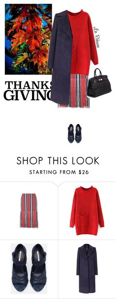 """Happy Thanksgiving"" by mrs-len on Polyvore featuring mode, Dries Van Noten, Zara, Reiss et Hermès"