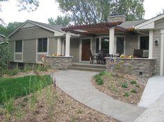 Scandia Road - Edina, MN Main Level & Exterior Renovation - traditional - Exterior - Minneapolis - Schrader & Companies