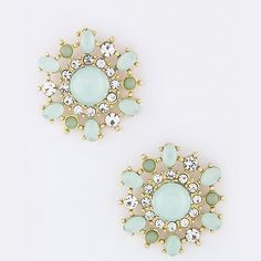Floral Burst Earrings Pinterest: @Kai'ahni