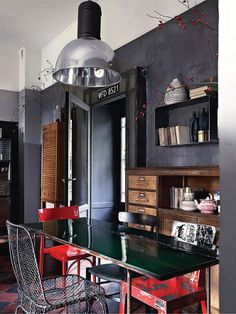 Living Industrial On Pinterest Loft Spaces Edison Lamp And Steampunk
