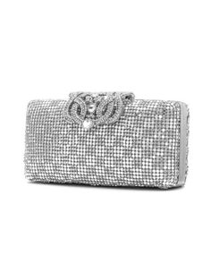 Embellished box clutch by angel forever. Shop now: http://nava.bi/1L7xva5 #navab i#fashion #glamour