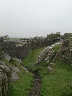 The place I want to go more than anywhere else.  Hike Hadrian's Wall.
