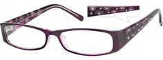 Order online, women purple full rim acetate/plastic rectangle eyeglass frames model #238917. Visit Zenni Optical today to browse our collection of glasses and sunglasses.