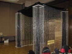 pipe and drape entrance with criss cross - Google Search