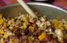 Baked Farro with Winter Squash & Bacon – Urban Digs Farm