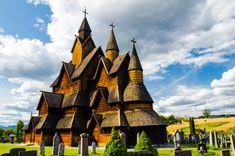Heddal stave church, Jižní Norsko Trondheim, Kirchen, Bergen, Rafting, Travelling, Cathedral, Building, Buildings, Cathedrals