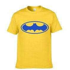 Batman Fashion Print 100% Cotton Men's T-shirt