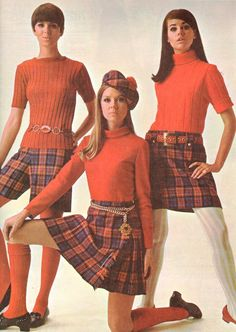 Diane Conlon, Terry Reno and Colleen Corby, 1967.