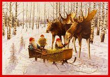 Stor julbonad - av konstnär Jan Bergerlind