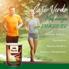 Café Marita Verde o café que vai ajudar a atingir os seus objectivos saiba mais em www.cafe-marita.pt #marita #maritanetwork #hugocostanetworker #empreendedorismo #cafe #cafemarita #empreender #serempreendedor Fat, Entrepreneurship, Get Skinny, Metabolism, Green