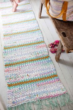 Modern Christmas, Christmas Diy, Rugs, Crochet, Home Decor, Creative, Farmhouse Rugs, Decoration Home, Room Decor