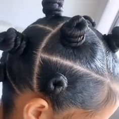Natural Long Straight Human Hair 360 Lace Frontal Wig For Sale care videos Bantu knots classic Hair Twist Styles, Curly Hair Styles, Natural Hair Styles, Bantu Knot Styles, Cute Natural Hairstyles, Protective Hairstyles For Natural Hair, Bantu Knot Hairstyles, Girl Hairstyles, Kids Hairstyle