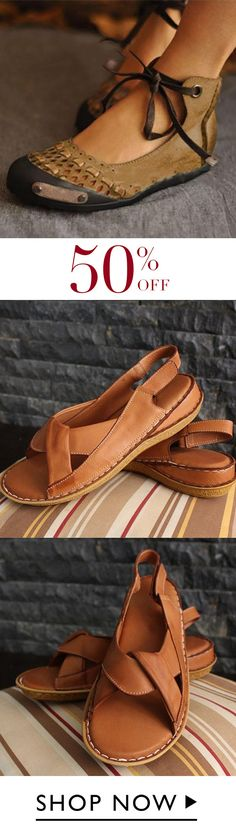 Women Comfy Soft Sole Sandal Shoes - Care - Skin care , beauty ideas and skin care tips Lace Up Sandals, Open Toe Sandals, Women's Shoes Sandals, Shoe Boots, Peep Toe Flats, Suede Flats, Comfy Shoes, Cute Shoes, Me Too Shoes