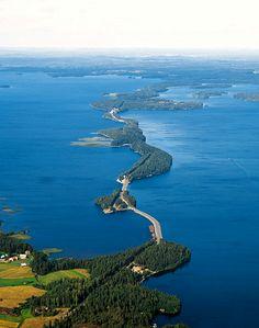 Päijännettä pohjoiseen - -Pulkkilanharju, Asikkala / Towards north at Lake Päijänne, in Pulkkilanharju, Asikkala.