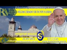 Starts at pm - On the occasion of his visit to the Diocese of Campobasso and Isernia, Pope Francis meets the youth of Abruzzo and Molise in Castelpetroso. Francis Of Assisi, Pope Francis, Youtube English, King Abdullah, Holy Land, Roman Catholic, Pilgrimage, Young People, Welcome
