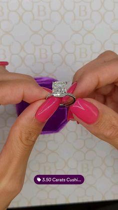 Engagement Rings Cushion, Dream Engagement Rings, Engagement Ring Cuts, Wedding Goals, Wedding Planning, Dream Wedding, Wedding Dreams, Wedding Bands, Wedding Ring