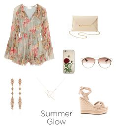 """Golden Rosé"" by rebecaruizr on Polyvore featuring moda, Zimmermann, Kendall + Kylie, Charlotte Russe, Christian Dior, Fernando Jorge y A Weathered Penny"