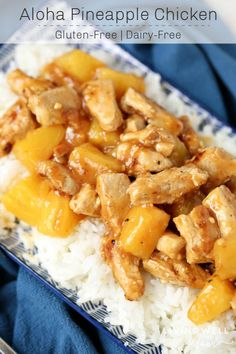 Pineapple Chicken Dinner Aloha Chicken is a delicious quick-and-easy weeknight meal the whole family will love! Get the easy recipe here.Aloha Chicken is a delicious quick-and-easy weeknight meal the whole family will love! Get the easy recipe here. Healthy Dinner Recipes, Cooking Recipes, Pineapple Dinner Recipes, Pineapple Chicken Recipes, Teriyaki Pineapple Chicken, Hawaiian Chicken, Aloha Chicken Recipe, Cooking Videos, Vegetarian Cooking