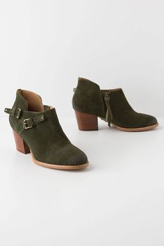 two buckle booties