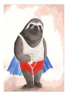 Champion Sloth - Trouva