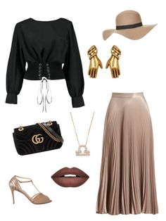 """""""Let's meet for Lunch"""" by theharlemhippie-sharema on Polyvore featuring A.L.C., Christian Louboutin, Boohoo, Topshop, Gucci, Forever 21, Marc Jacobs and Latelita"""